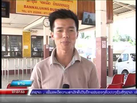 NEWS: Luangprabang transportation on the Lao New Year festival 2015