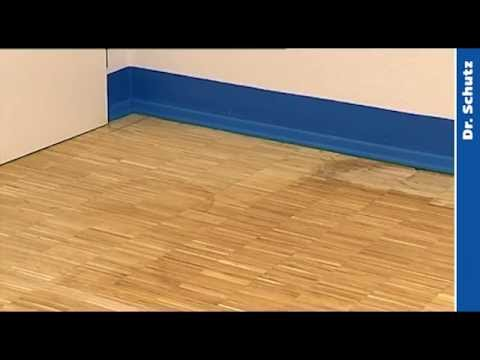 Initial Situation And Working Stages Of Wood Floor Restoration And