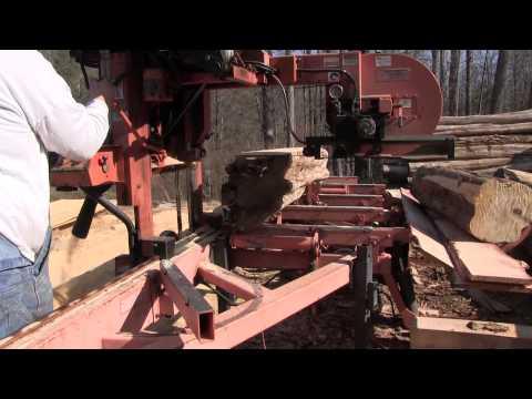 Awesome Sawmill - Wood-Mizer LT40 Diesel