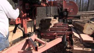 Awesome Sawmill - Wood-mizer Lt40 Diesel
