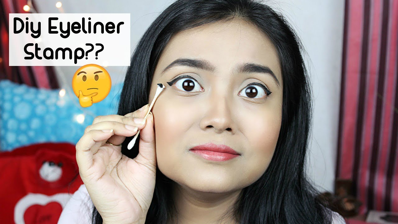 Diy Eyeliner Stamp Under Rupees 20