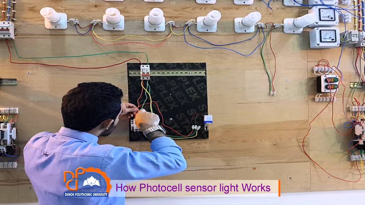 How Photocell Sensor Light Works   Practical   Explained