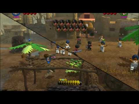 LEGO Indiana Jones 2 - Temple of Doom - Wrong Gong Rung (Bonus Level ...