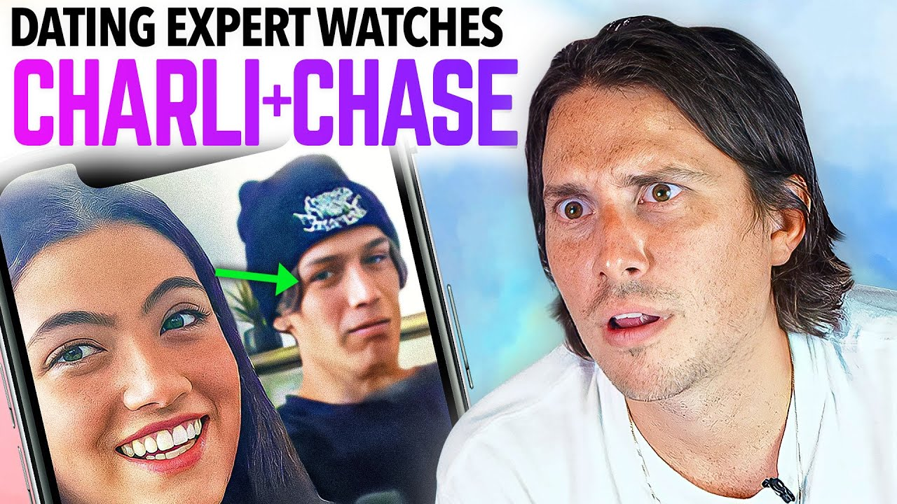 Dating Expert Reacts to CHARLI D'AMELIO + CHASE HUDSON