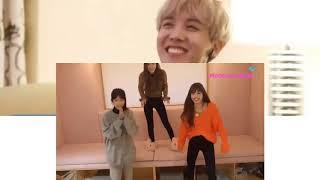 BTS Reaction Lisa Blackpink Cute Moments