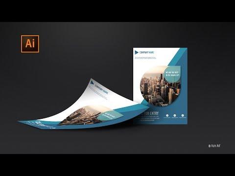 Flyer Design Tutorial: Illustrator cc Tutorial