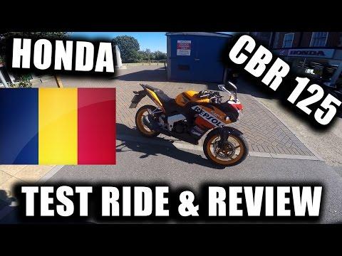 HONDA CBR125R - TEST RIDE & REVIEW