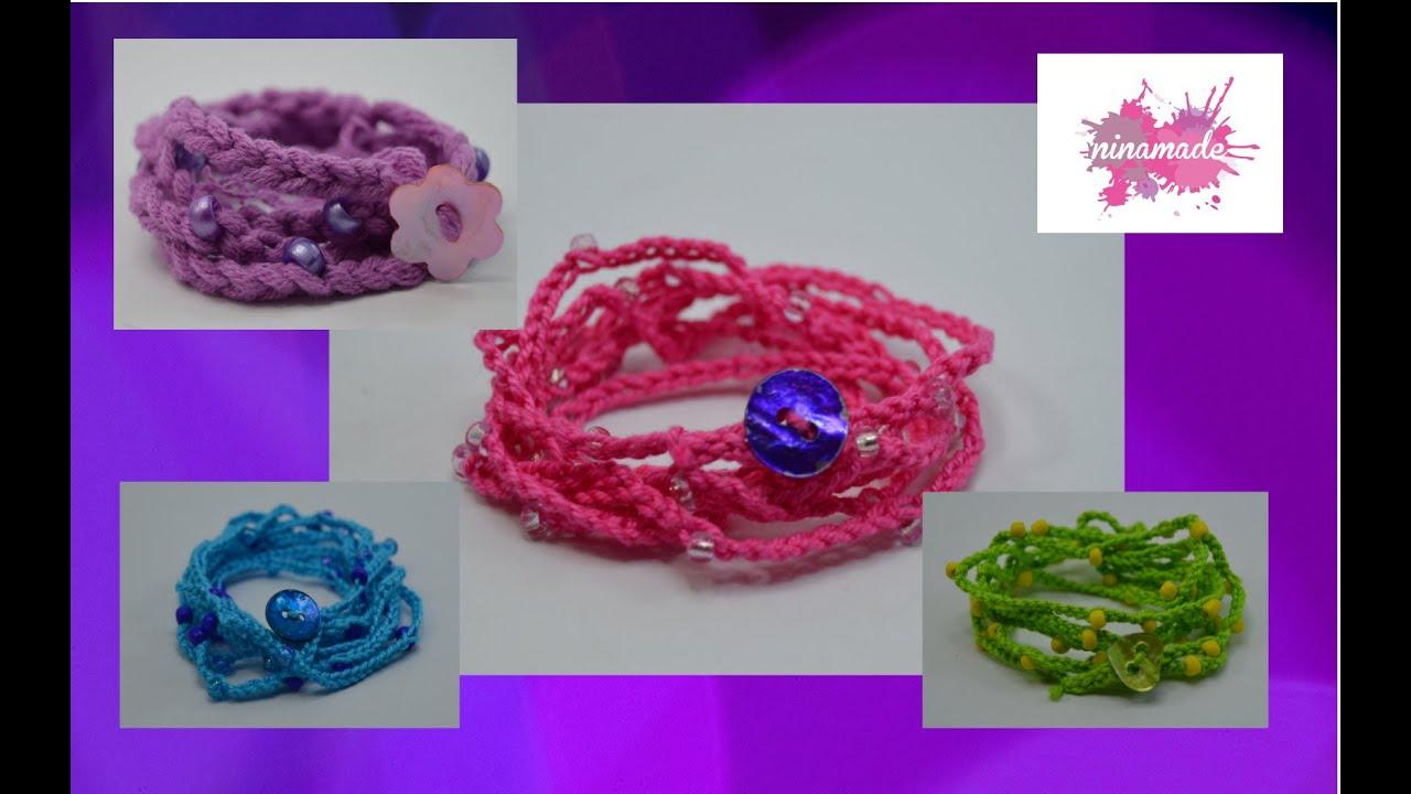 diy comment faire un bracelet avec du fil et des perles. Black Bedroom Furniture Sets. Home Design Ideas