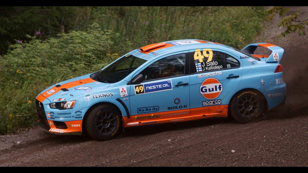 Dirt Rally Tv Replay Finland Juha Salo Mitsubishi Lancer Evo