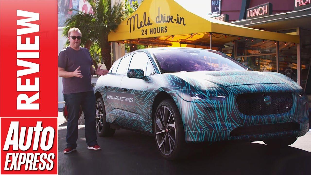 Jaguar I-Pace pre-production review - will Jag's new EV worry Tesla? - Dauer: 3 Minuten, 5 Sekunden