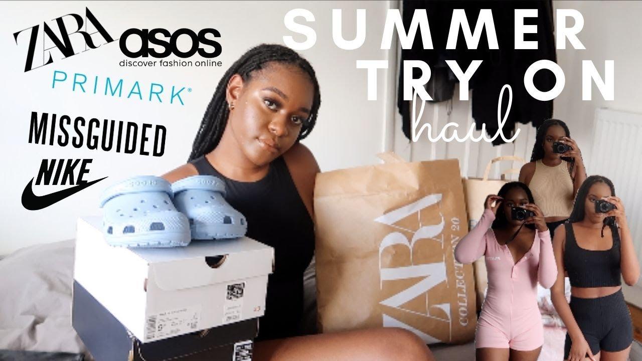SUMMER TRY ON HAUL 2020 ~ Zara, ASOS, Missguided, Primark & More