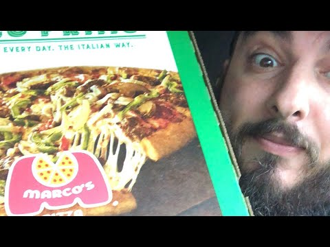 MARCO'S PIZZA REVIEW | NATIONAL PIZZA DAY