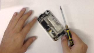 Ремонт iPhone 4 (замена кнопки home)