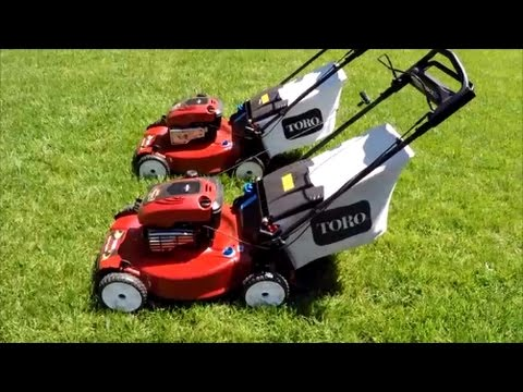 Toro Recycler Personal Pace Lawn Mower Twins!Review Model 20332 - April 28, 2017