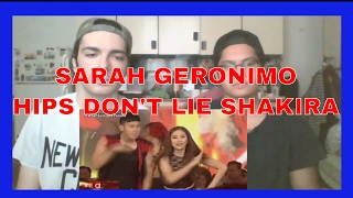 Sarah Geronimo sings Shakira's Hips Don't Lie REACTION
