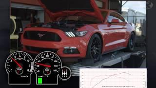 2015 Mustang GT Stock Intake vs. Boss Intake Dyno Test