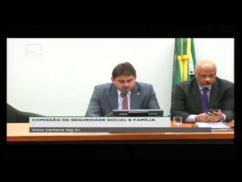 SEGURIDADE SOCIAL E FAMÍLIA - Reunião Deliberativa - 20/06/2018 - 10:15