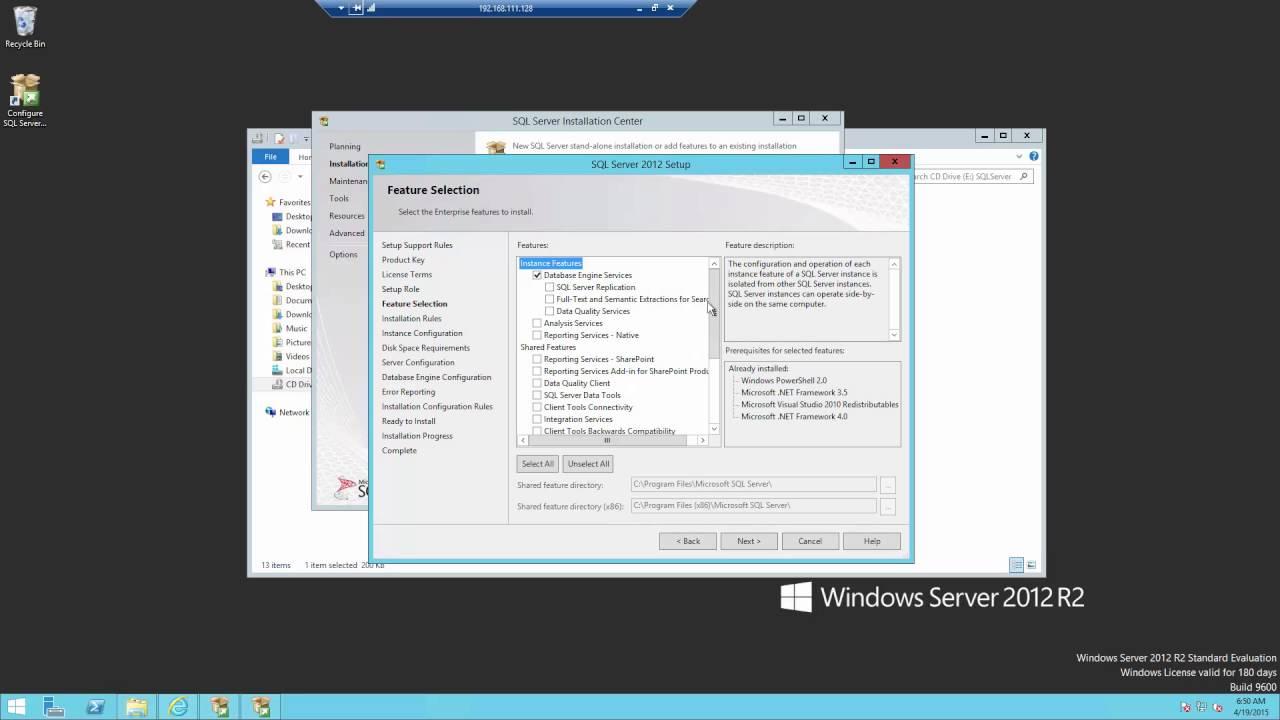 Microsoft System Center 2012 R2 Virtual Machine Manager Installation