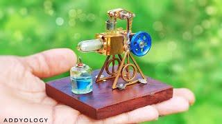 Powerful Mini Stirling Engine - TEST