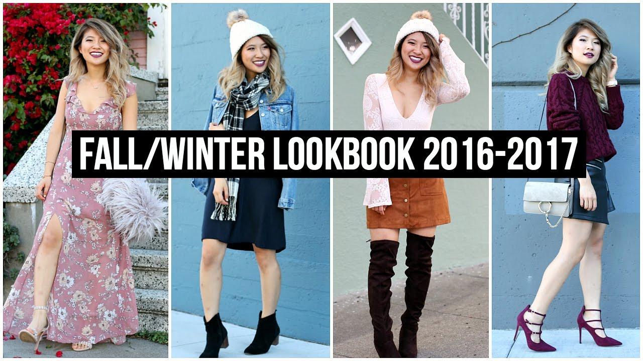 Fall Winter Fashion Lookbook 2016-2017! - YouTube ad51495f84782