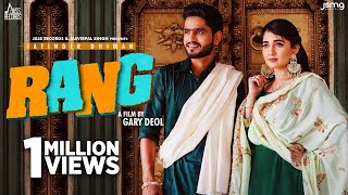 Rang (Official Video) Jatinder Dhiman | Jassi X | Arjan Virk | Latest Punjabi Songs 2020