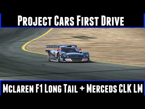 Project Cars First Drive Mclaren F1 Longtail + Mercedes CLK LM
