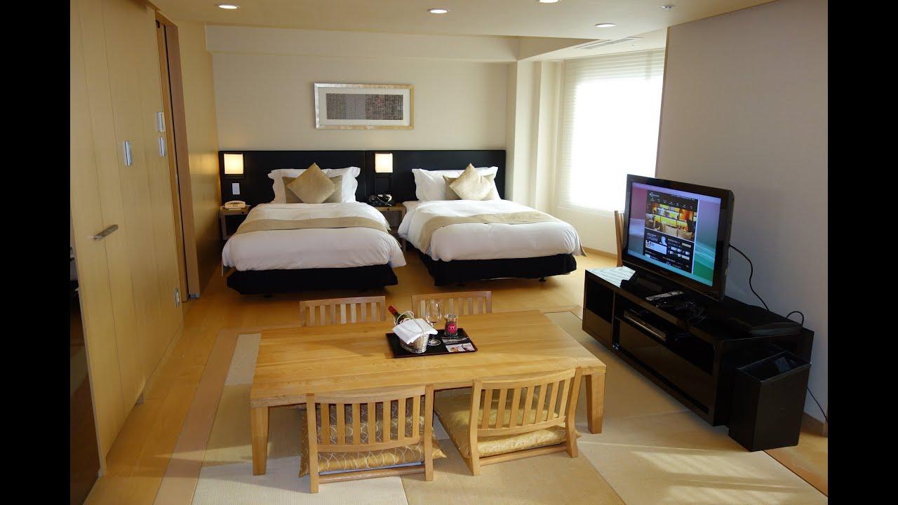 Ana intercontinental tokyo japanese suite tatami jan for Design hotel tokyo
