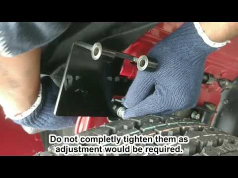 Thar Spare Wheel Guard installation AT00051