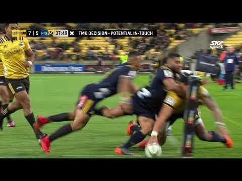 HIGHLIGHTS: Super Rugby Week #6 Hurricanes vs Highlanders