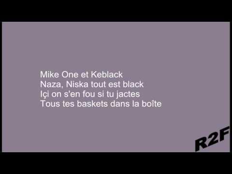 Naza Ft. Niska, KeBlack & Dj Mike One - Lové  (Paroles/Lyrics)