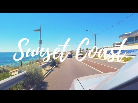 Perth Sunset Coast Drive   Trigg Beach to Burns Beach