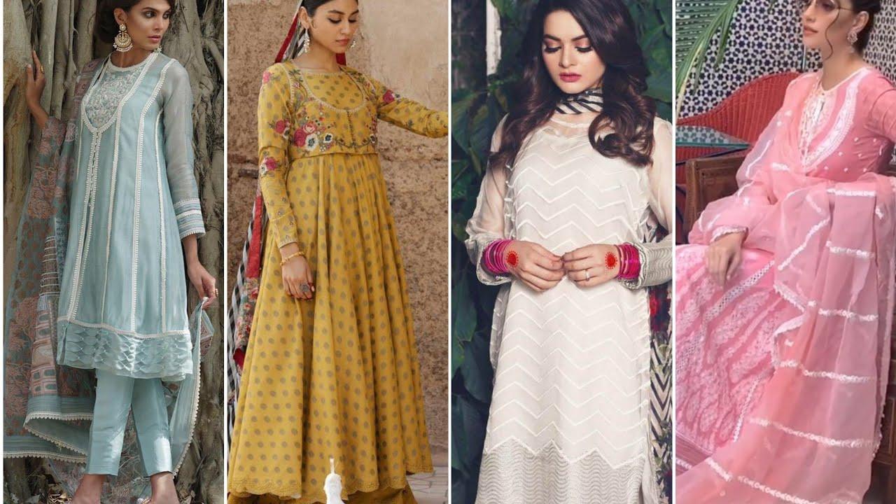 Download Latest Eid dress designing ideas 2020...branded dress design for eid...