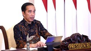 Rapat Terbatas Evaluasi PSBB, Istana Merdeka, 12 Mei 2020