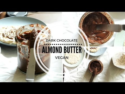 Dark Chocolate Almond Butter | Coconutavocado