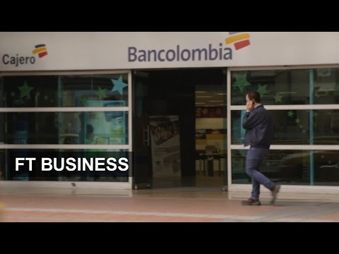 Mobiles bring Colombia poor to banks | FT Business