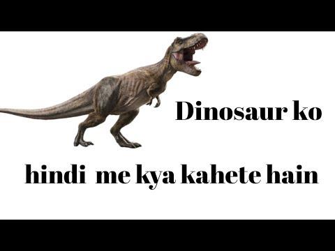 Dinosaur ko Hindi me kya kahte hain