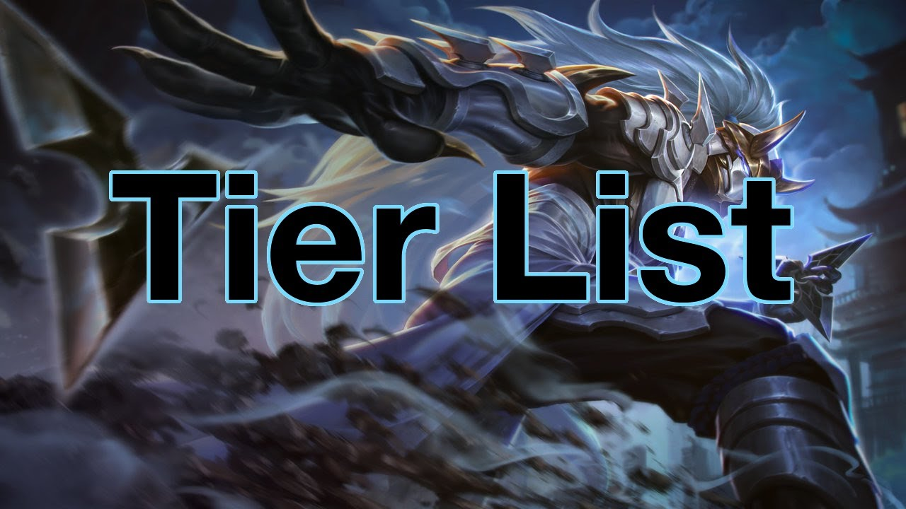 [Arena of Valor] Tier List June 2019 - YouTube