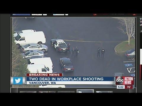 Shooting kills two at Vancouver, Wash., business