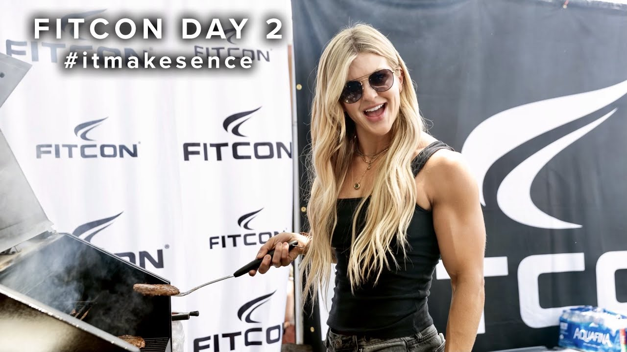BROOKE ENCE VLOGS | BBQ at Fitcon!!!