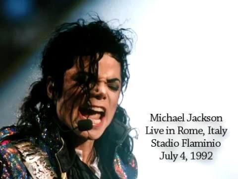 Michael Jackson - Dangerous Tour Rome July 4, 1992 Amateur