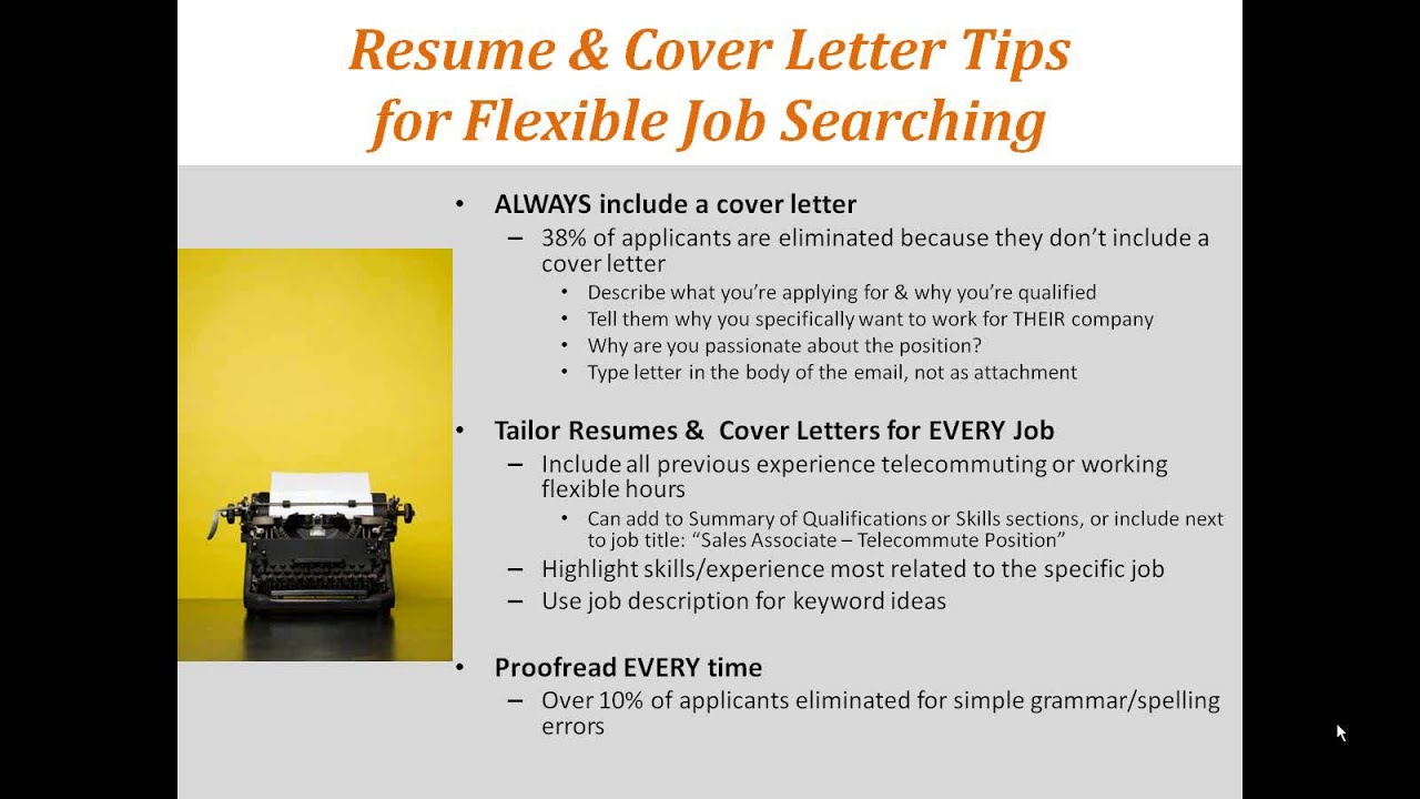 Expert Tips for Your Flexible Job Search, by FlexJobs - YouTube