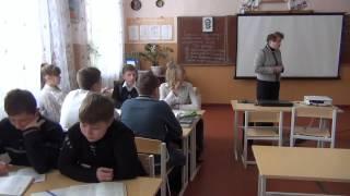 Урок з укр. літератури з теми