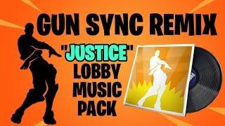 Fortnite GUN SYNC - Justice Lobby Music Pack