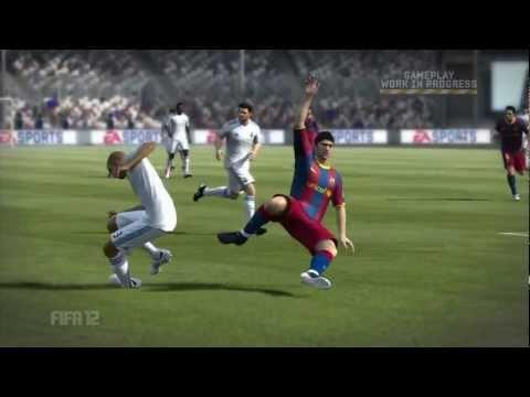 FIFA 12 Gameplay - Player Impact Engine