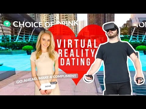 I Went On A VIRTUAL Date! | VR Dating Lessons (PART 1)