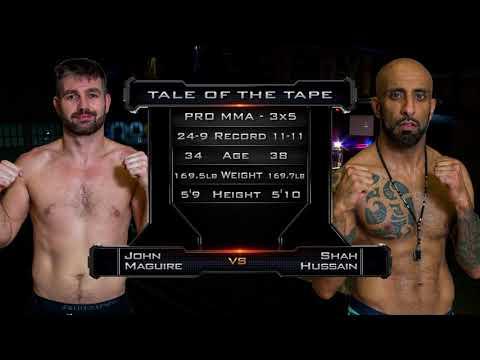 ROC4 Shah Hussain vs John Maguire