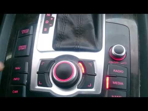 How to enter hidden green menu Audi MMI 3G (A1 A4 A5 A6 A7 A8 Q3 Q5
