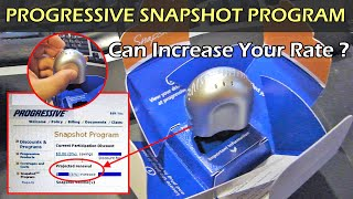 Progressive Snapshot Program Can Increase Your Rate
