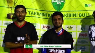 Fatih Özkan (Röportaj) - Kırmızı Şeytanlar/ İZMİR/ iddaa Rakipbul Ligi 2016 Açılış Sezonu