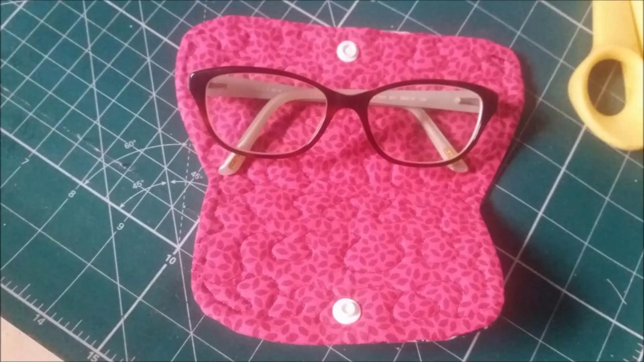 feada58b6 Porta Óculos Fácil de fazer - YouTube